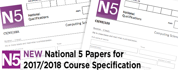 New National 5 Prelim Papers